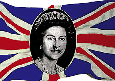 queen-on-flag